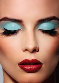 eye makeup and lipstick 01