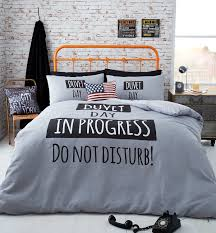 catherine lansfield duvet day double duvet cover free delivery over 30 on all uk orders