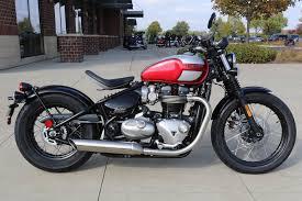 2018 triumph bonneville bobber motorcycles saint charles illinois
