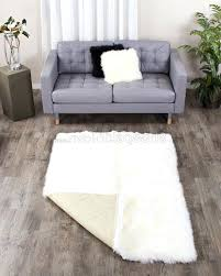 4 x 6 rug photo 2 of 8 large ivory white sheepskin area rug ft attractive