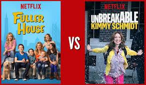 fuller house netflix. Fine Netflix Fuller House Vs Unbreakable Kimmy Schmidt Throughout Netflix E