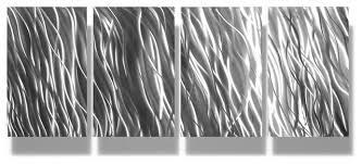 metal art wall art decor abstract contemporary modern sculpture silver reef on silver grey metal wall art with metal art wall art decor abstract contemporary modern sculpture