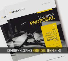 Proposal Layouts Interesting Business Proposal Templates Design Graphic Design Junction
