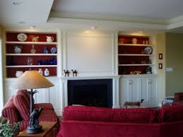 White Cabinets Living Room Living Room Fireplace Cabinets Black Fireplace Large White