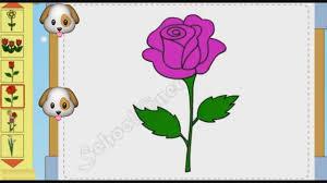 Bé tập vẽ các loại hoa vẽ cây nấm - Flower drawing tutorials - YouTube