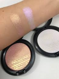 makeup mac extra dimension skinfinish in beaming blush soft frost want this in beaming blush