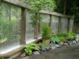 K Rain Garden Wall Water Feature