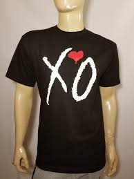 The Weekend Xo T Shirt Tee Classic Hip Hop Rap Music Love Black Or White Gift Print T Shirt Hip Hop Tee T Shirt New Arrival Tees Causal