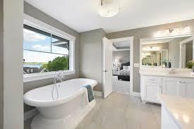 transitional bathroom ideas. Neutral Bathroom Ideas Transitional With Freestanding Bath R