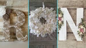DIY Shabby chic style Floral Letters and Wreath decor Ideas | Home decor  ideas| Flamingo Mango|