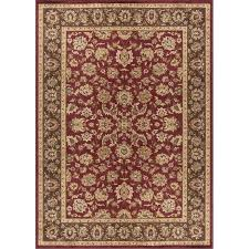 8 x 10 large red and gold area rug elegance rc willey furniture