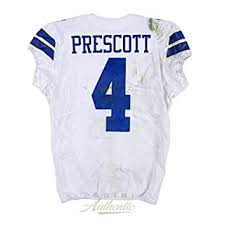 Limited Amazon's Jersey 22 San From The Francisco 17 Game 49ers Edition Vs Certified Store Sports Prescott 10 Collectibles Worn At 1 Dak 1 Panini Dallas - Authentic Cowboys ~