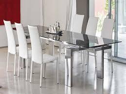 considering glass dining room sets eea design regarding modern table inspirations 4