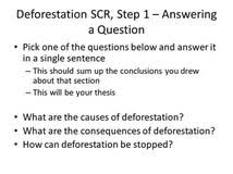 conclusion for deforestation essays essay about i culture conclusion for deforestation essays