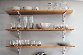 Kitchen Splendid Wall Mounted Bakers Rack Design Ideas For