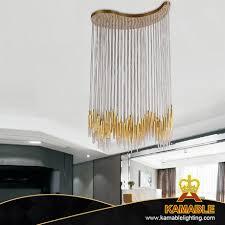 modern decorative wave hanging metal