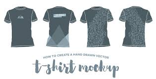 mockup t shirt how to create a hand drawn vector t shirt mockup