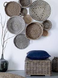 classy inspiration wicker wall decor home design ideas what to hang on the besides art and