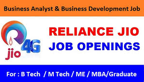 Reliance Jio Careers : Manager Business Analyst & Manager Business ...