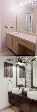 Before And After 20 Awesome Bathroom Makeovers Diy Bathroom Remodel Small Bathroom Makeover Bathroom Remodel Master