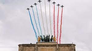 Covid-19 response at Bastille Day parade