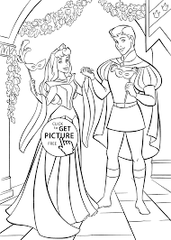 Small Picture Sleeping Beauty ball coloring pages for kids printable free