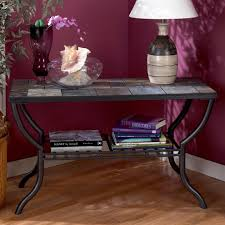Slate top coffee table End Tables Slate Top Sofa Table Country Furniture Barn Signature Design By Ashley Antigo Slate Top Sofa Table Royal