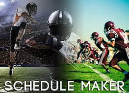 Sports Team Schedule Maker Automated Online Football Schedule Maker Software