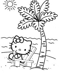 Hello Kitty Coloring Pages Free Printable Printable Coloring Page