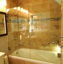 installing sliding glass door bathtub