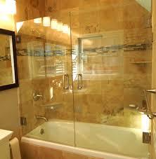 installing sliding glass door bathtub bathroom ideas