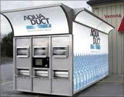 Bottled Water Vending Machines For Sale Gorgeous RFIDenabled Vending Machine Dispenses Bottled Water 484848