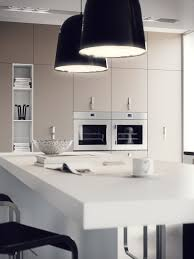 black kitchen lighting. Incredible Designer Kitchen Island Lighting : Lovely Ideas With Black Glass And