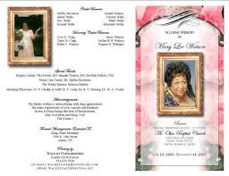 Funeral Programs Samples Enchanting Funeral Programs
