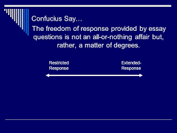 measuring complex achievement essay questions ppt video online  6 confucius say