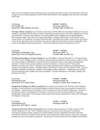 Example Military Resume Magnificent Soldier Resume Krida