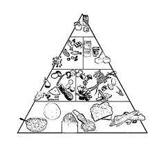 Small Picture pyramid coloring pages
