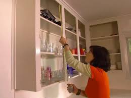 measure each cabinet opening