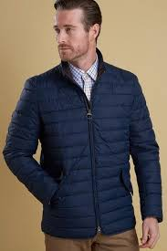 Barbour Chelsea Baffle mens quilt jacket in Navy/indigo ... & Barbour Chelsea Baffle mens quilt jacket in Navy/indigo MQU0733IN71 -  Smyths Country Sports Adamdwight.com