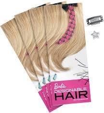 Barbie Com Designable Hair Barbie Designable Hair Extensions Refill Pack Designable