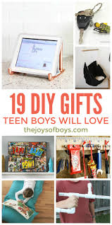 diy gifts boys will love