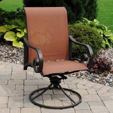 Backyard Creations Melbourne Swivel Rocker Patio Chair at Menards