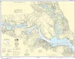 James River Depth Chart Noaa Nautical Chart 12251 James River Jamestown Island To Jordan Point