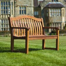 garden seating. Alexander Rose Cornis 3 Seater Outdoor Garden Seating