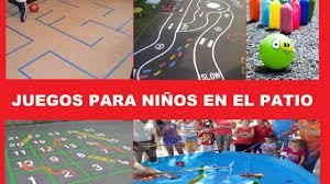 4 juegos de patio para niños. Proyecto Recreos Entretenidos Para El Nivel De Primaria