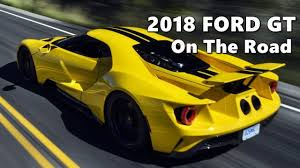 WATCH NOW!! 2018 FORD GT SUPERCAR SPECS - YouTube