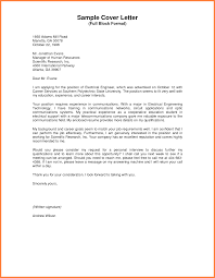 Ideas Collection Full Block Business Letter Examples For Your