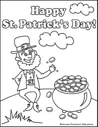 Small Picture St Patricks Day Colouring Pages With Regard To St Patricks Day