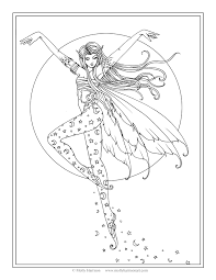 Free Fairy Coloring Page Luna S