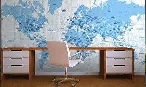 office world map. Maps Office World Map